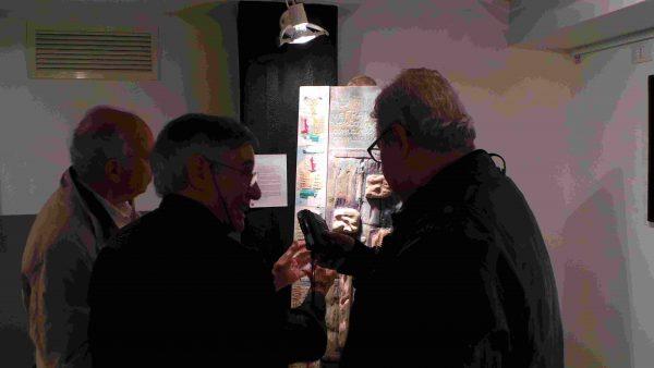 bruno da Todi stellt Gedanken und Capricci aus