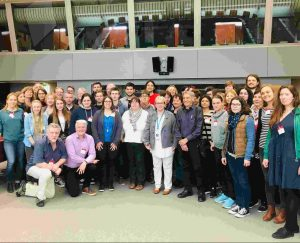 bruno da Todi mit Gabriela Heinrich MdB im Europarat Straßburg