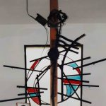 Cappella Marchetti Fenster und Kreuz